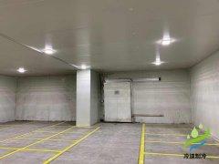 2520m³荣庆低温冷冻库(食品仓储)工程