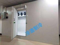 兆维2至-25度医药冷藏冷冻库安装工程