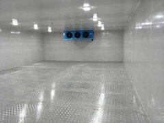 松羽2至8度香料防爆冷库安装设计工程