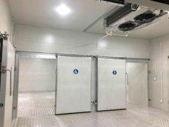 【双温冷库设计】酒店餐饮厨房冷库安装造价多少钱一平方