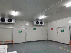 上海0~5℃上药制药52m³医药冷库建造工程