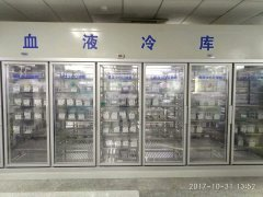 100立方米血液医药冷冻库设计安装方案