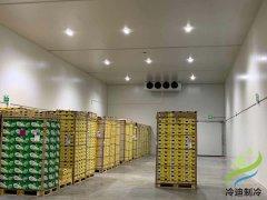 60m³桃子小型水果冷库工程建设成本多少钱