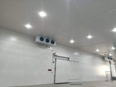江苏500吨大型食品恒温保鲜冷库安装设计