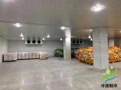 嘉兴安装300吨水果生鲜保鲜冷库建造设计大概造价成本